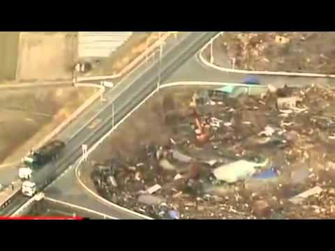 Japan - 11 Mar 2011, Tsunami Hits Northeast Coast of Japan Following 8.9 Magnitude Earthquake 1.flv