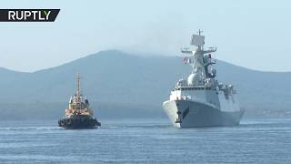 Ships, subs & helicopters: Russia & China kick off massive naval drills near Korean Peninsula - RUSSIATODAY