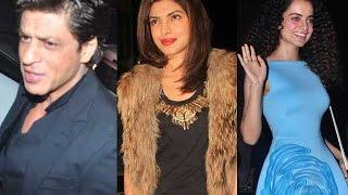 SRK, Priyanka And Kangana At Sanjay Leela Bhansali's Party - THECINECURRY