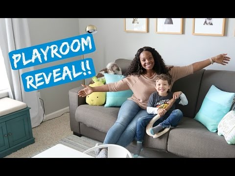 PLAYROOM REVEAL!