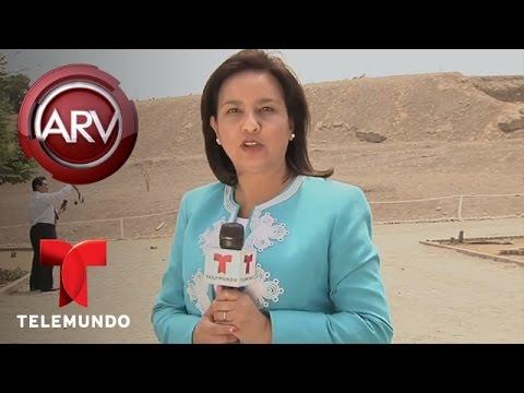 Al Rojo Vivo | Imágenes de supuesto humanoide causan asombro | Telemundo ARV