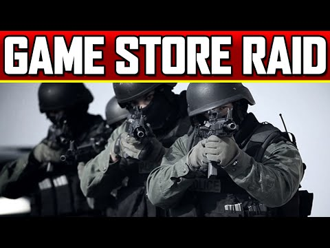 Police Raid Video Game Store in Swatting Hoax