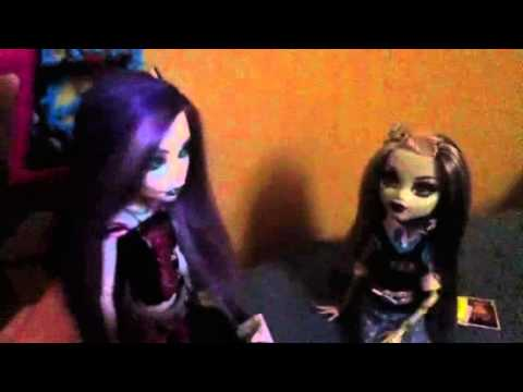 Monsterhigh Movie 6, part 2: Frankie's secret exposed
