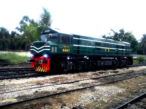 Pakistan Railways (New Locomotive ZCU 20)