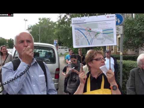 Stuttgart 21 Rundgang im Nordbahnhofviertel 14.06.2014