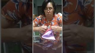 Casa dos Aposentados/as: nossa diretora Sheila Lourenço mostra como fazer máscaras