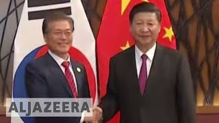 N Korea threat high on agenda of S Korea-China talks - ALJAZEERAENGLISH