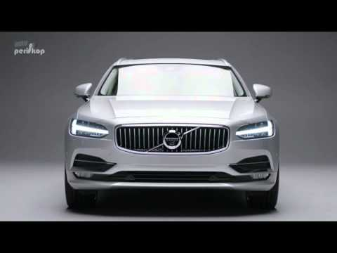 Autoperiskop.cz  – Výjimečný pohled na auta - Autosalon Ženeva 2016 – Volvo V90 – VIDEO