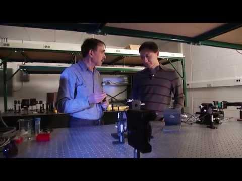 激光使金属表面超疏水