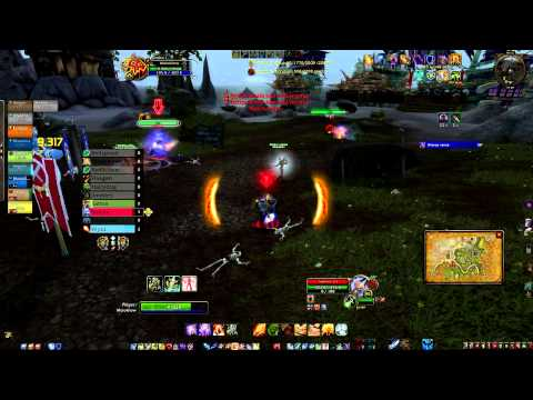 WOW 5.2 Shaman Elemental Abilities and BURST - PVP - Meiokilow @ Tol Barad - BuGaDoS