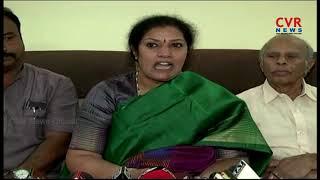 BJP Leader Daggubati Purandheshwari Slams TDP Leaders   CVR News - CVRNEWSOFFICIAL