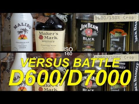 Nikon D600 VS D7000 - Epic Comparison
