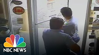 Surveillance Video Appears To Show Florida Commissioner Shooting Suspected Shoplifter | NBC News - NBCNEWS