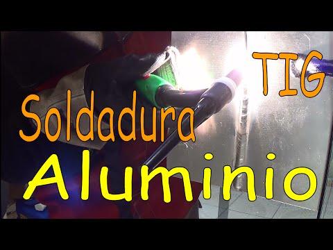 Soldadura TIG en Aluminio, Unión a tope en la Posicion Vertical ascendente 3G (version Español)