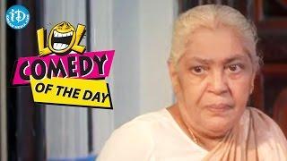 Comedy Of The Day 256 || Brahmanandam And Nirmalamma Comedy Scene || Soggadi Pellam Movie - IDREAMMOVIES