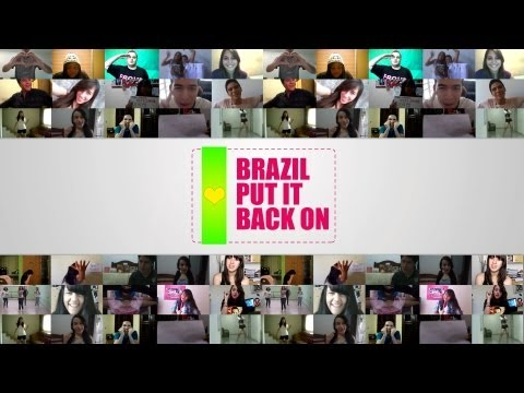 Girls' Generation Brasil - Brazil, Put It Back On! [Official Video]