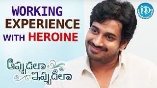 Working Experience With Actress Harshika Poonacha - Surya Tej    Appudala Ippudila    Talking Movies - IDREAMMOVIES