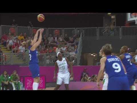 Basketball Women's Preliminary Round Group B - Brazil v France Replay -- London 2012 Olympic Games
