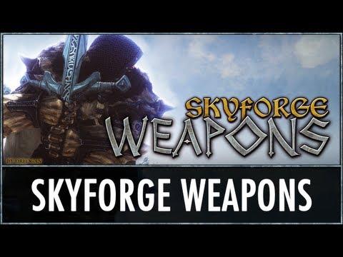 Skyrim Mod: Skyforge Weapons