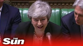 PMQs: May and Corbyn spar over job loses - THESUNNEWSPAPER
