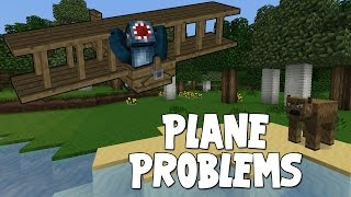 watch the youtube video Minecraft - Attack Of The B Team - Plane Problems! [44]