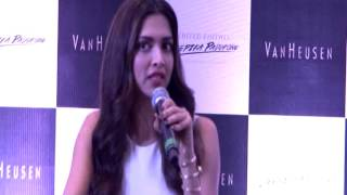 Deepika Padukone Launches Limited Edition, Designed By Her For Van Heusen - THECINECURRY