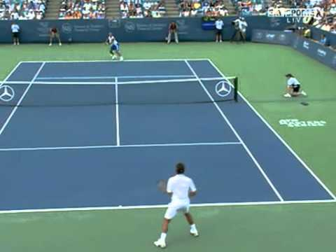 Roger Federer vs James Blake -- Cincinnati 2007 Highlights