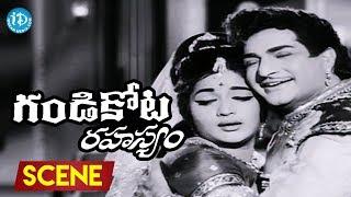 Gandikota Rahasyam Movie Scenes - NTR Meets Devi || Jayalalitha || Rajanala - IDREAMMOVIES