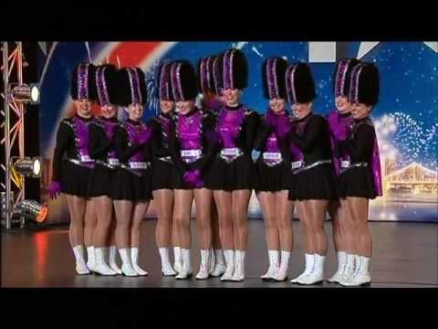 Black Diamonds - Drill Dance Team  - Australia's Got Talent 2012 audition 4 [FULL]