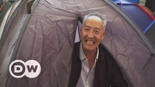 Chinese university pitches tents for parents of enrollees | DW English - DEUTSCHEWELLEENGLISH