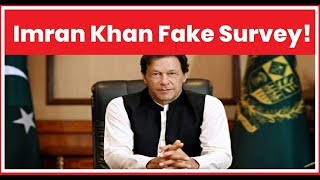 Pakistan Prime Minister Imran Khan Fake Survey: Pak PM new stunt to build his image - NEWSXLIVE