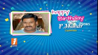 Happy Birthday To Cameramen PJ Kumar From iNews Team  | iNews - INEWS