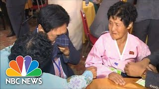 Families Torn Apart By Korean War Are Reunited After Decades | NBC News - NBCNEWS