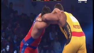 PWL 3 Day 11: Georgi Ketoev Vs Vicky Chahar at Pro Wrestling League 2018   Full Match - ITVNEWSINDIA