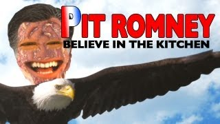 Annoying Orange - Pit Romney Presidential Campaign Video