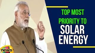 India Is According Topmost Priority To Solar Energy Says PM MODI | Mango News - MANGONEWS