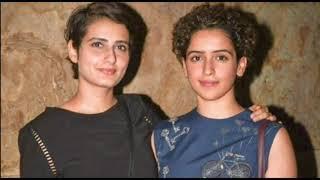 Dangal Girls Fatima Sana Shaikh और Sanya Malhotra बड़े पर्दे पर फिर  दिखेंगी साथ - ITVNEWSINDIA