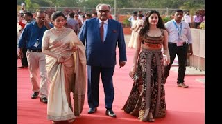 In Graphics: Sridevi and Janhvi Kapoor attended Day 1 of IFFI 2017 in Goa, View Pics - ABPNEWSTV