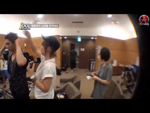 {SINAQ} 120817 MBLAQ Idol Manager Ep 1