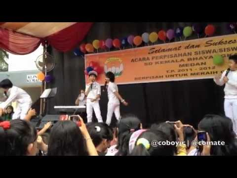 Coboy Junior Special Behind The Stage - Medan Trip