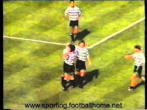32J :: Sporting - 2 x E. Amadora - 0 de 1989/1990