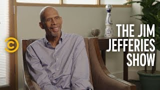 Kareem Abdul-Jabbar Talks Athlete Activism - The Jim Jefferies Show - COMEDYCENTRAL