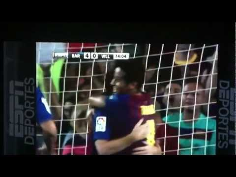 Primer Gol De Alexis Sanchez Barcelona 5 Villareal 0