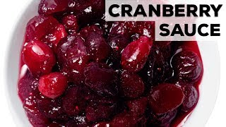 Perfect Cranberry Sauce | Food Network - FOODNETWORKTV