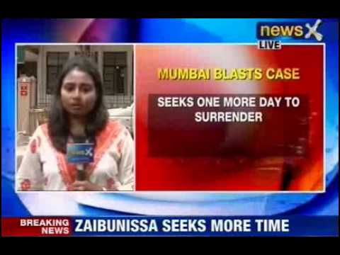NewsX: Zaibunisa seeks more time to surrender