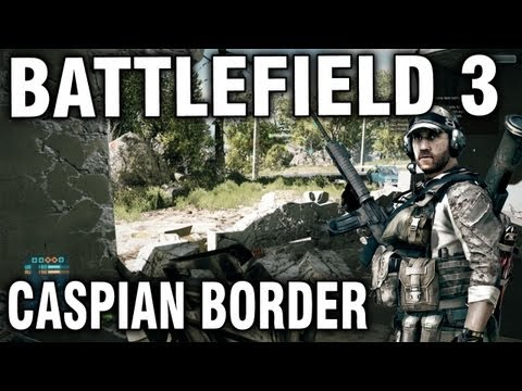 "Battlefield 3 Beta - Caspian Border Commentary ""Full Match"""