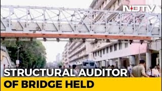 Auditor Who Reviewed Mumbai Foot Overbridge Detained - NDTV