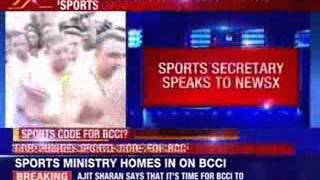 Government drives sports code noose on BCCI - NEWSXLIVE