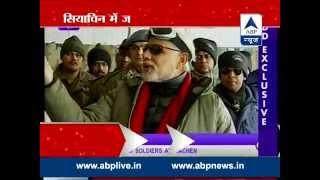 Modi's Kashmiri Diwali l Visits soldiers in Siachen and flood victims in Srinagar - ABPNEWSTV