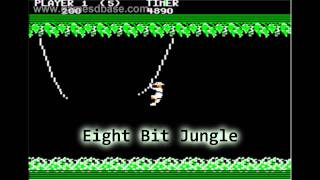 Royalty Free :Eight Bit Jungle